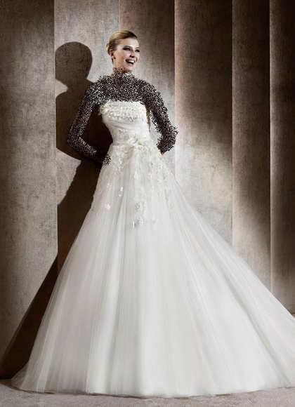 مدل های جدید از فیگور و لباس عروس