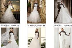 مدل جدید فیگور و لباس عروس