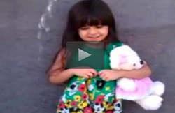 چالش آب یخ دختر بچه ایرانی