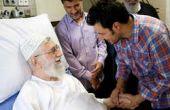 عکس/ عیادت الهام چرخنده و جواد عزتی از رهبر انقلاب