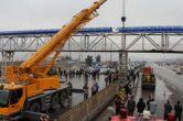 حادثه فرو ریختن پل عابر پیاده در بزرگراه آزادگان تهران