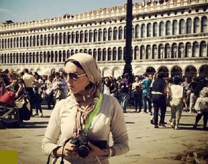 جدیدترین عکس های لیلا بلوکات در اروپا