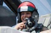 زن خلبانی که به مواضع داعش حمله کرد + عکس