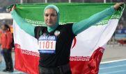 کسب مدال نقره توسط « لیلا رجبی » در دوومیدانی اینچئون