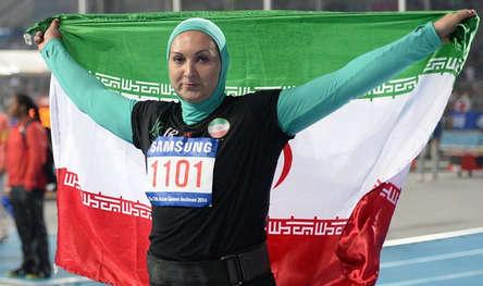 لیلا رجبی ، رشته دوومیدانی/ پرتاب وزنه