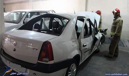 انفجار خودرو تندر 90 (L90)