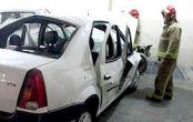 عکس/ انفجار عجیب در داخل خودروی « تندر ۹۰ »