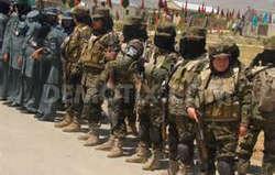woman afghan police