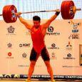 کیانوش رستمی طلا گرفت / رقابت های وزنهبرداری جهان