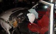 تصاویر تصادف BMW در اتوبان همت تهران/ مرگ سرنشینان