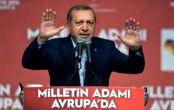 درگیری مخالفان و طرفداران قبل از سخرانی اردوغان
