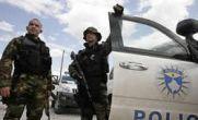 کوزوو ؛ حمله پلیس به عاملان حمله مقدونیه