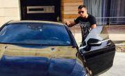 عکس خودروی بنز کریستیانو رونالدو