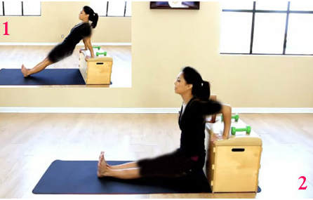 حرکت برای تقویت عضلات پشت بازو در خانه