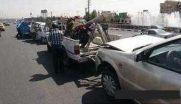 تصادف زنجیره ای در بزرگراه امام علی / مرگ پسربچه ۸ ساله