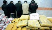 ۲۶۸ کيلوگرم مواد مخدر در مهريز یزد کشف شد.