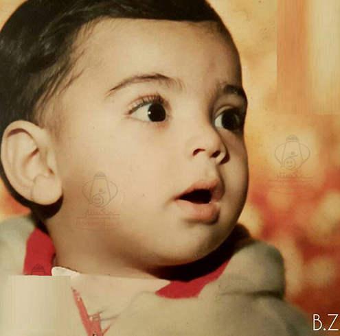 عکس بهادر زمانی از کودکی اش (بازیگر فیلم تنهایی لیلا)