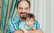 """عکس بروزو ارجمند و پسرش در سریال """"تنهایی لیلا"""""""