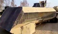 کشف خودروی زرهی عجیب داعش در سامرا + عکس