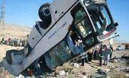 واژگونی اتوبوس اسکانیا زائران عراقی در همدان / ۱۱ کشته