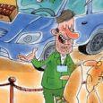 خودروسازان: تجهیز خودروها برای حادثه و تصادف + کاریکاتور