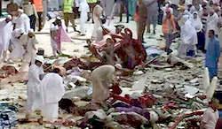 تصاویر / اعلام کشته شدگان و مجروحان زائران ایرانی در حادثه مکه ( سقوط جرثقیل / جزئیات و تصاویر )