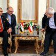 علت گچ گرفتن پای محمد جواد ظریف چیست؟ / عکس