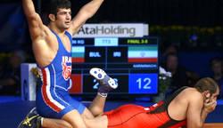 نتیجه کشتی ایران قهرمانی جهان 2015 لاس وگاس آمریکا