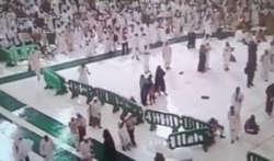 فیلم / تازه ترین فیلم از لحظه سقوط جرثقیل در مکه (16+)