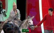 فیلم / خر سواری علیرضا خمسه در «برنامه خندوانه»