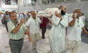پیکر ۷ تن از جان باختگان حادثه مکه به تهران آورده شد