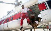 اولین بار در ایران: آموزش سگ های نجات با بالگرد