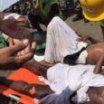 فیلم / حادثه جدید حجاج مکه در رمی جمرات صحرای منا