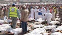 افزایش شمار کشته شدگان ایرانی در حادثه منا به 131 نفر