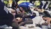 فیلم / تصاویر جدید از «لحظه وقوع حادثه منا» (+۱۸)