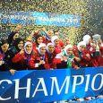 تصاویر قهرمانی آسیا توسط تیم فوتسال بانوان + عکس