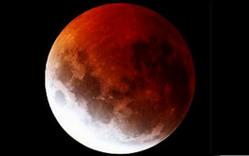 خسوف و ابر ماه بامداد امروز دوشنبه ساعت 4:37