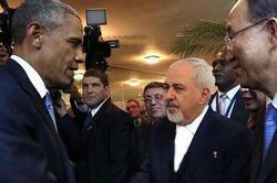 عکس جعلی ظریف با اوباما