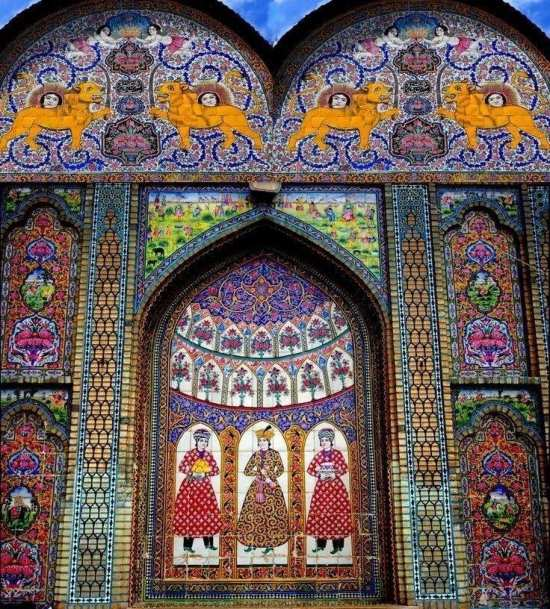 تاریخ و مناظر دیدنی ایران