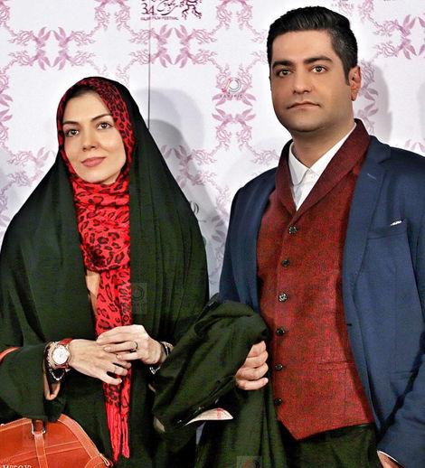 عکس / آزاده نامداری و همسرش سجاد عبادی