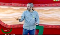 فیلم / استند آپ کمدی «امیر مهدی ژوله مقابل مسعودی»