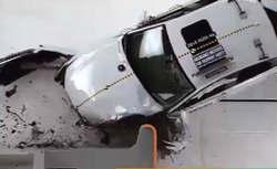 فیلم / تست تصادف خودروی جدید آئودی A6 2016