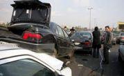 تصادف زنجیره ای در بزرگراه قزوین – کرج با ۴۳ مصدوم