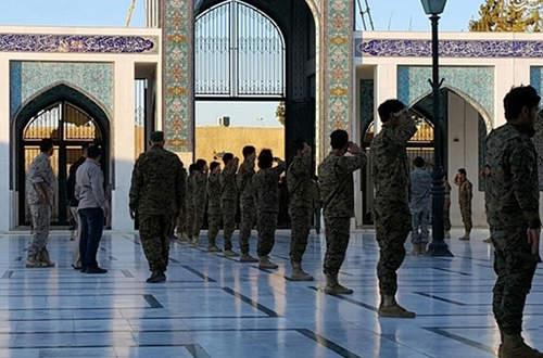 بازگشت و تشییع پیکر سردار شهید حسین همدانی + عکس
