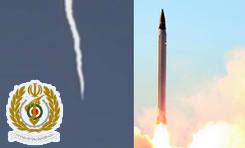 فیلم / لحظه شلیک آزمایشی «موشک بالستیک عماد»