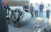 تصاویر سقوط موتور هواپیما بوئینگ ۷۴۷ ماهان + عکس