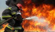 آتش سوزی ساختمان ۶ شش طبقه در ارومیه / نجات ۲۰ نفر