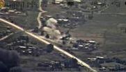 حملات پی در پی هلیکوپترهای میل ۲۵ به مقر داعش + فیلم
