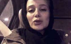 فیلم / الناز حبیبی پس از انتشار خبر فوتش !
