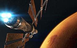 عکس / ساخت عظیم ترین فضاپیما برای سفر به مریخ تا 2018